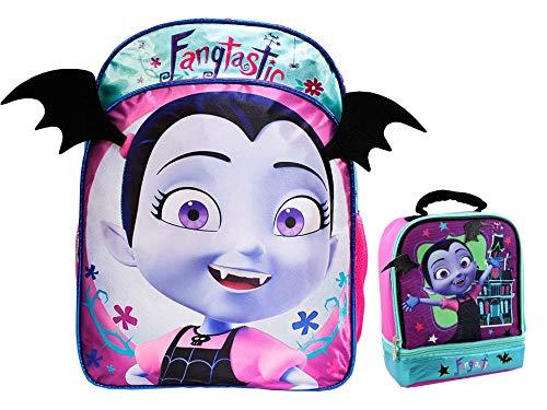 Vampirina Girls School Backpack Book Bag Lunch Box SET