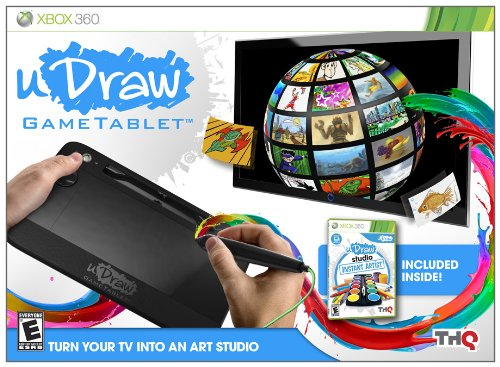 uDraw Game tablet with uDraw Studio: Instant Artist - Xbox 360 Udraw Games