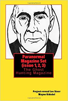 Book Paranormal Magazine Set (Issue 1, 2, 3): The Ghost Hunting Magazine