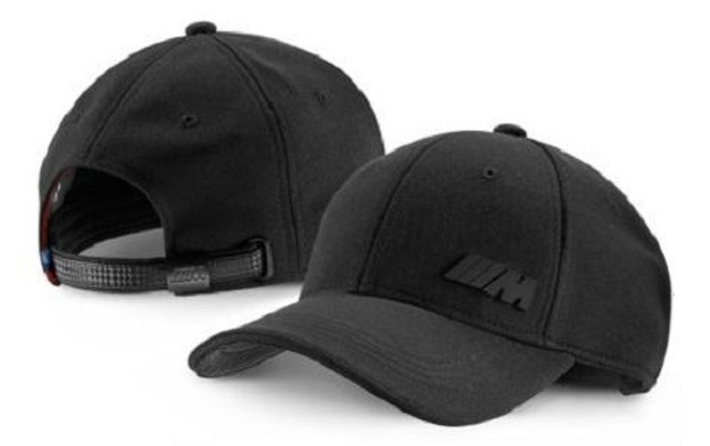 daecac23f BMW New Genuine Black Unisex M Performance Baseball Cap Hat 80162410914