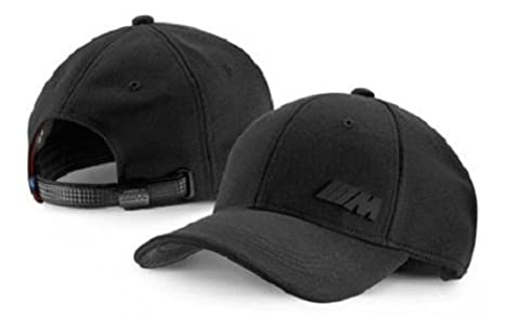 Cappellino BMW M nero  Amazon.it  Sport e tempo libero 24012a4685a9