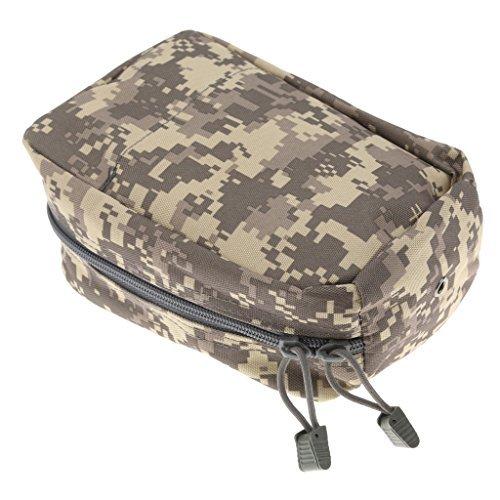 Multiuso giubbino Tools Utility Accessory Pouch caccia marsupio nero/marrone/verde/ACU/CP–camouflage, 19cm WayGo