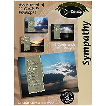 Amazon divinity boutique greeting card assortment sympathy divinity boutique greeting card assortment sympathy skies 17990n m4hsunfo Gallery