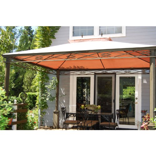 Garden Winds Replacement Canopy for Albertsons Somerset Gazebo RipLock 350