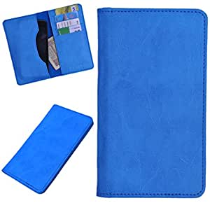 DCR Pu Leather case cover for vivo Y28 (sky blue)