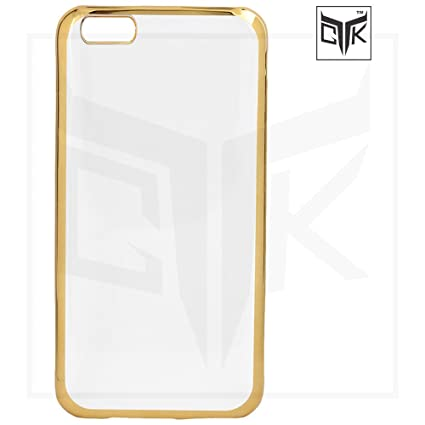 info for 67ff4 e2f2a Oppo A57 Back Cover - Golden Border Soft Clear Back: Amazon.in ...