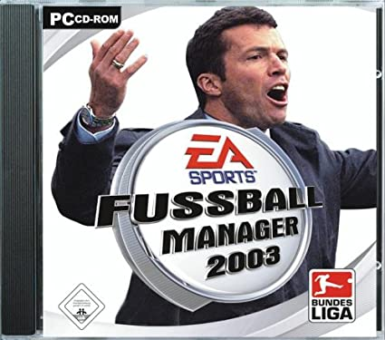 Fussball Manager 2003 Ea Classics Pc Amazon De Games