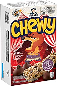 QUAKER Chewy Chocolate Chip Granola Bars (18 Count), 468 g