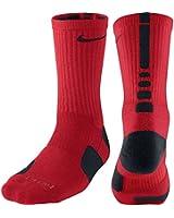 Nike Elite Basketball Crew Socks Black & White