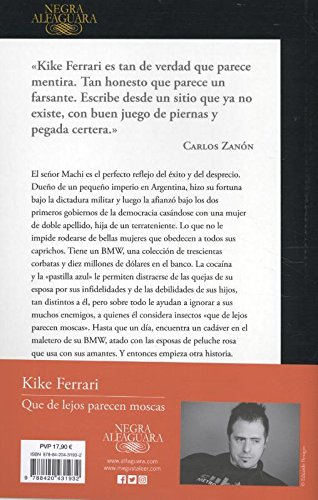Que de lejos parecen moscas / They Look Like Flies From Afar (Spanish Edition): Kike Ferrari: 9788420431932: Amazon.com: Books