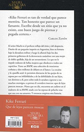 Que de lejos parecen moscas / They Look Like Flies From Afar (Spanish Edition): Kike Ferrari: 9788420431932: Amazon.com: Books