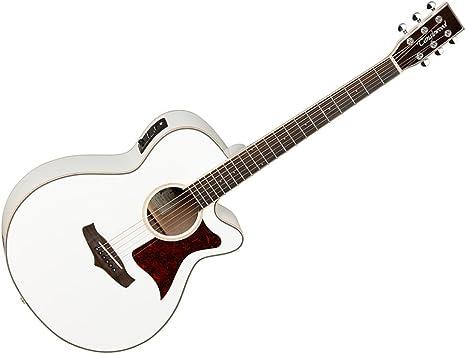 Tanglewood Super Folk TW4 wh – Guitarra electroacústica, tapa de ...