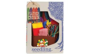 Seedling Create Your Own Feather Crown Kit