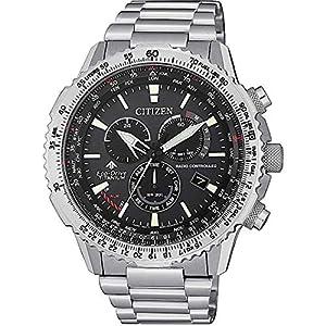 Reloj Citizen Radiocontrolado Crono Pilot Super Titanium 12