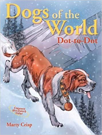 Dogs of the World Dot-to-Dot (Connect the Dots & Color): Marty ...