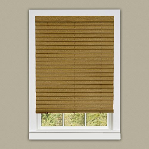 Achim Luna Woodtone 2 in. Vinyl Venetian Cordless Blind with