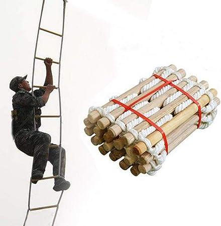 Gereton Escalera De Cuerda De Escape De Incendios, Escalera De Escape Colgante De Emergencia Portátil Resistente A Las Llamas para Niños Adultos: Amazon.es: Hogar