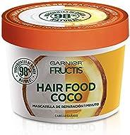 Garnier Fructis Mascarilla para cabello natural y vegana coco, hair food fructis garnier Aguacate