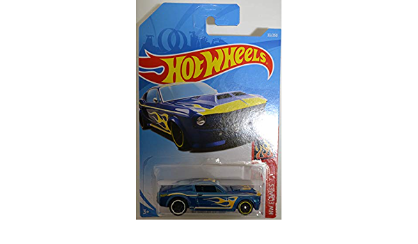 fyf19-HW Flames-Voiture miniature 1//64 Hot Wheels-Shelby GT 500/'67