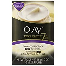 Olay Total Effects 7-in-1 Tone Correcting Night Moisturizer 1.7 Fluid-Ounce- Packaging May Vary