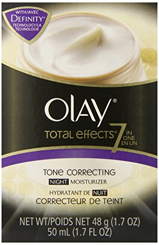 Olay Total Effects 7-In-1 Tone Correcting Night Moisturizer, 1.7 fl. Oz. (Olay Total Effects 7 In 1 Night Cream)