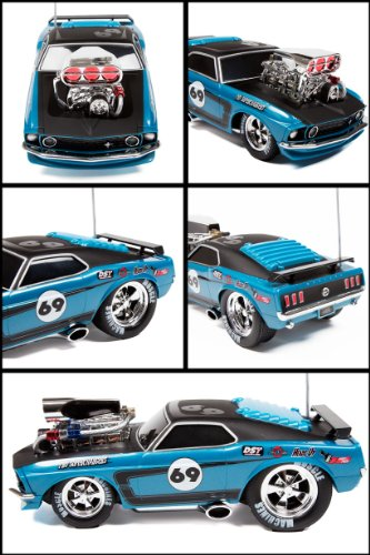 Maisto 1969 Ford Mustang Boss RTR 1:18 Electric RC Car