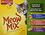 Best Wet  Foods - Meow Mix Poultry & Seafood Variety 24-pack Cat Review