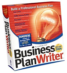 Business plan writer program