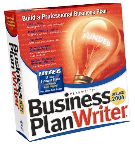 Business Plan Writer Deluxe 2004 (Business Plan Writer)