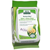 Aleva Naturals Bamboo Baby Nose 'n' Blows Wipes, 30 Count (Pack of 12)
