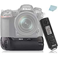 Meike MK-DR500 Professional Vertical Battery Grip Built-in 2.4GHz for Nikon D500 Camera Work with EN-EL15 Battery and AA Battery Replacement for MB-D17 + Mcoplus Cloth