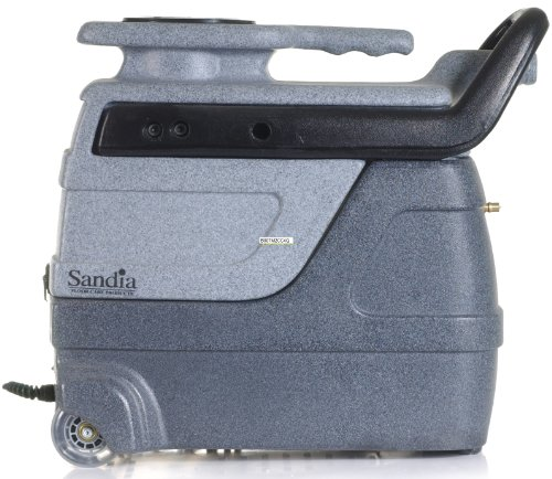 Sandia 50-3000 Super Spot-Xtract Commercial Extractor with Clear Viewith Plastic Hand Tool, 3 Gallon Capacity