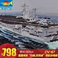 "KNL® Trumpeter 1/350 the United States Navy ""Kennedy John"" aircraft carrier CV-67 65306"