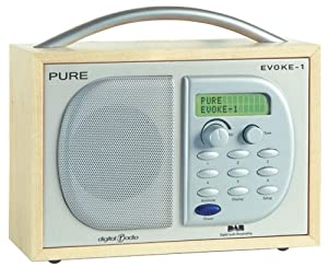 pure evoke 1 dab radio tv. Black Bedroom Furniture Sets. Home Design Ideas