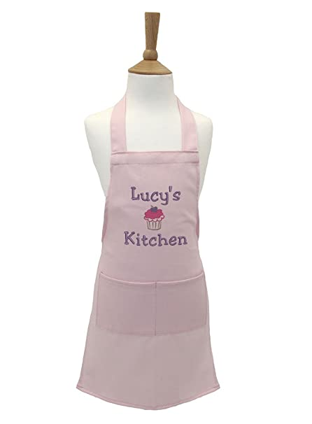 EMAIL THE NAME YOU WANT Traditional Style /'Star Bake/' Personalised Kid/'s Apron