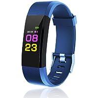 Jintes Braccialetto intelligente sportivo multifunzione per il monitoraggio della pressione arteriosa della frequenza cardiaca 115PLUS Smartwatch