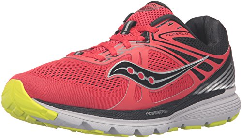 Saucony Swerve Mens (7 États-Unis - 40 EUR) (Red/Black/citron)