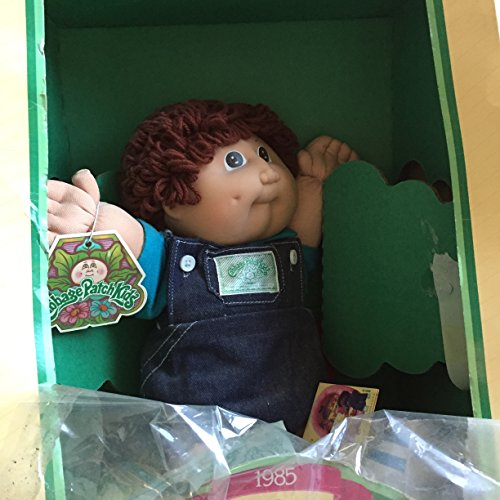 Cabbage Patch Kids Boy Doll In Overalls, 1985