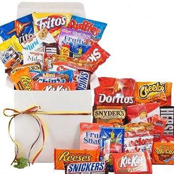 Amazon snackstravaganza deluxe snack gift basket college snackstravaganza deluxe snack gift basket college student gift idea negle Choice Image