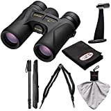 Nikon Prostaff 7S 8×42 ATB Waterproof/Fogproof Binoculars with Case + Harness + Tripod Adapter & Monopod + Kit