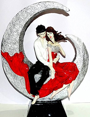 Buy Touch India Valentine Romantic Love Couple On Moon Statue Home