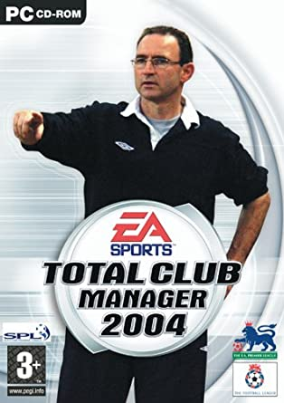 Total club manager 2004 download (2003 sports game).