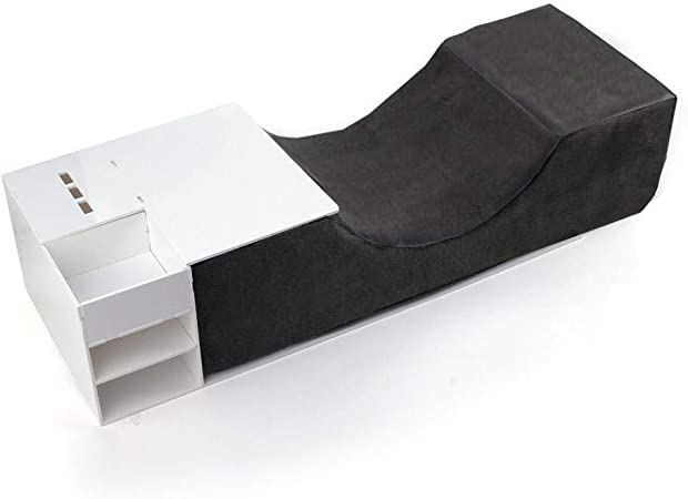 Orthopedic Pillow Sleep Eyelash Extension Pillow Memory Foam Neck Support  D9R4