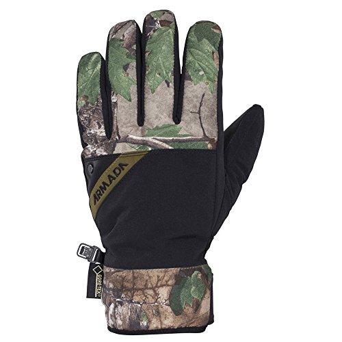 Armada Decker GORE-TEX Men's Gloves Real Tree Small ()