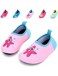 d19b97eb026fe Kids Swim Water Shoes Quick Dry Non-Slip for Boys   Girl