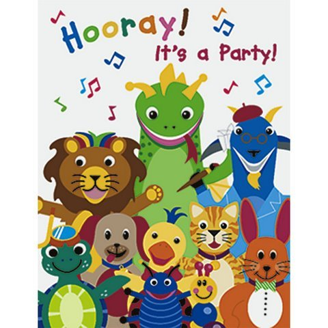Invitations Baby Einstein (Baby Einstein Party Invitations 8ct)