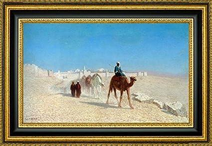 Amazon Com Jerusalem Cote De La Porte De Jaffe By Charles Theodore