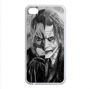 B2CSELLER Premium Customized Batman Joker slim fit TPU Case Cover for Iphone4/4S