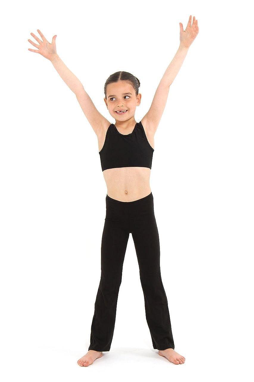 Arabesque - Childrens Jazz Pants Long Length Cotton Lycra