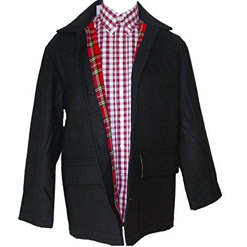 Donkey Coat - Warrior UK MPire Men´s Donkey Skinhead Punk Jacket Coat Tartan Lining (Small (S))